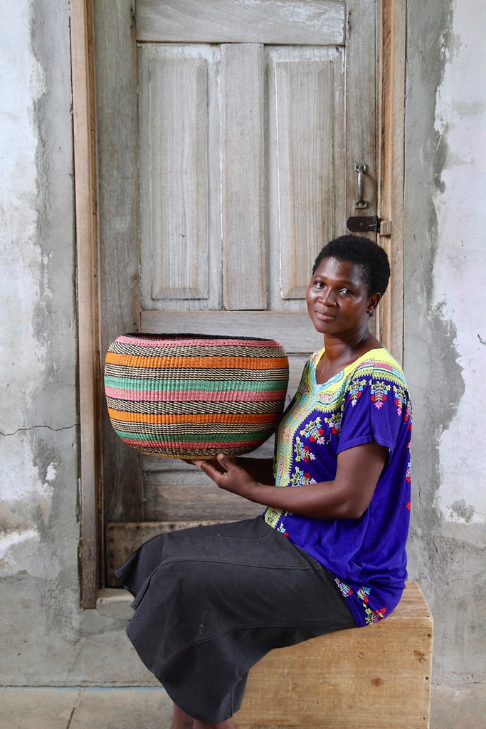 Woven Decor Basket - Special Bowl by Mary Ayinbora