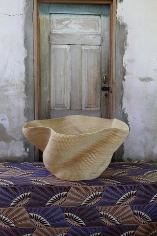 Art Basket - The Slow Wave by Nsohbillah Alagbona