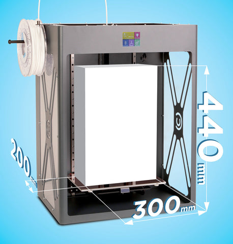 CraftBot XL - Large Format 3D Printer