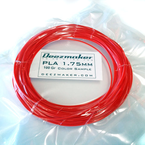 Filament 1.75mm - PLA Random Sample