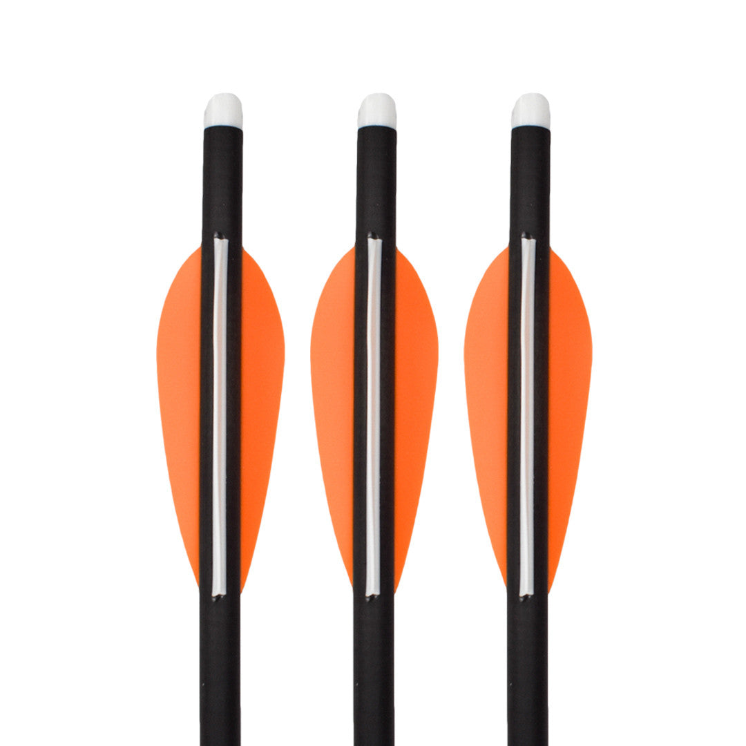 3 SLASH® CARBON CROSS BOLTS, 2 are INsetBlade® arrows.