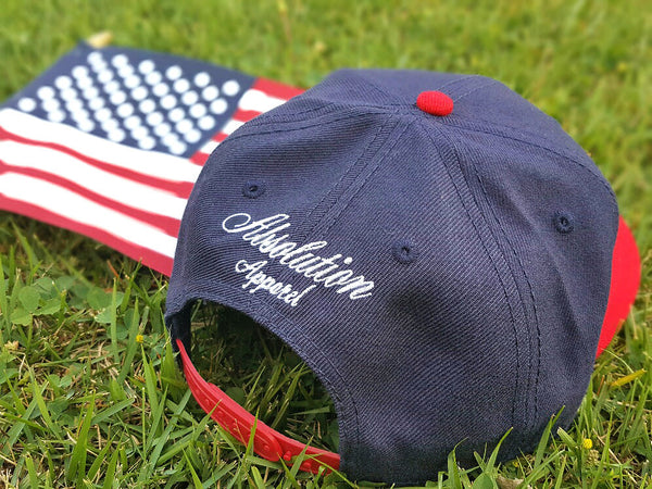 4th of July New Snapback Absolution Apparel Co.