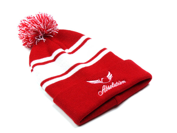 Red Beanie Absolution Apparel