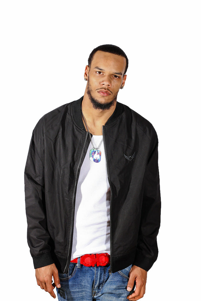 Black Lightweight Jacket Absolution Apparel