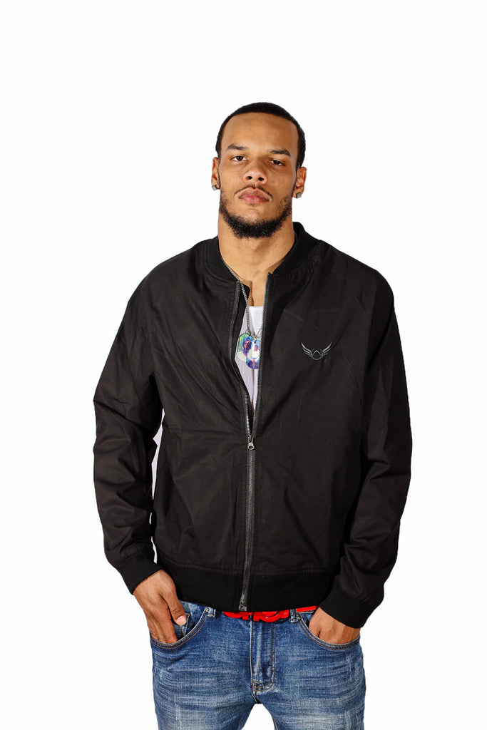 Black Lightweight Jacket Absolution Apparel 3