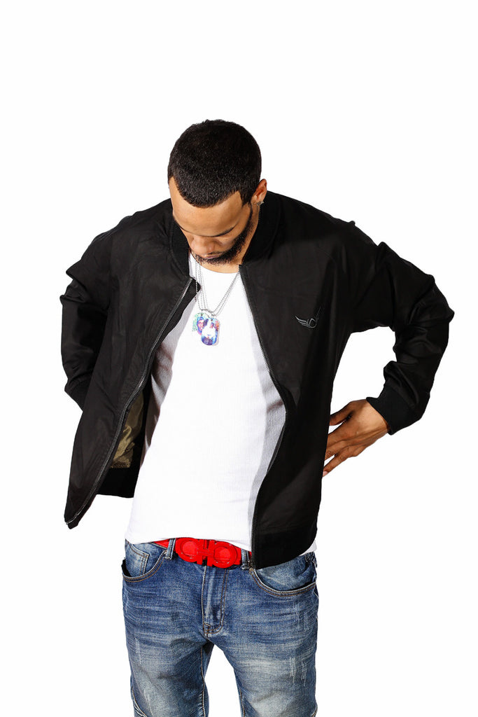 Black Lightweight Jacket Absolution Apparel 2