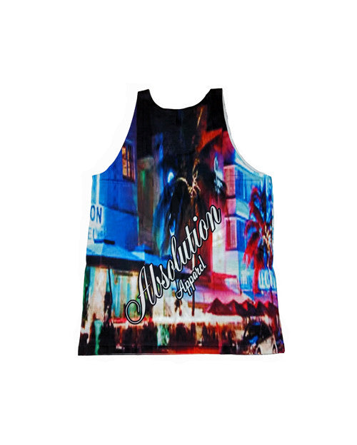 Night Life Tank Top - Absolution Apparel
