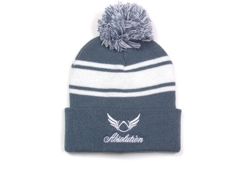 Shade of Grey Beanie Hat - Absolution Apparel - 1