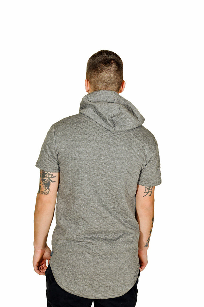 Grey Hoodie Short Sleeve Absolution Apparel Co 3