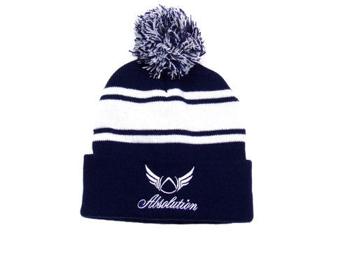 Winter Blue Beanie Hat - Absolution Apparel - 1