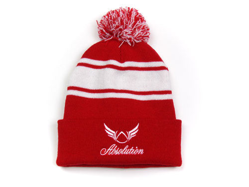 Jolly Red Beanie Hat - Absolution Apparel - 1