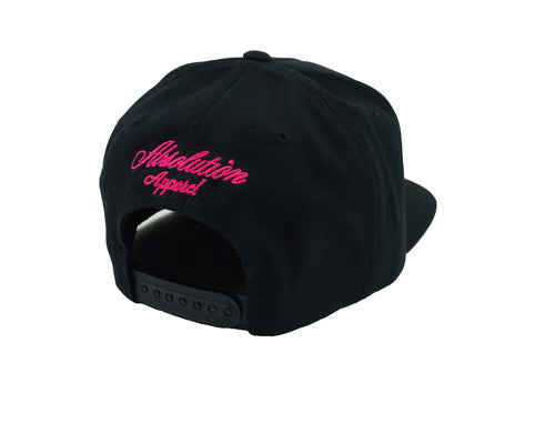 Black Bubble Gum Snapback - Absolution Apparel - 3