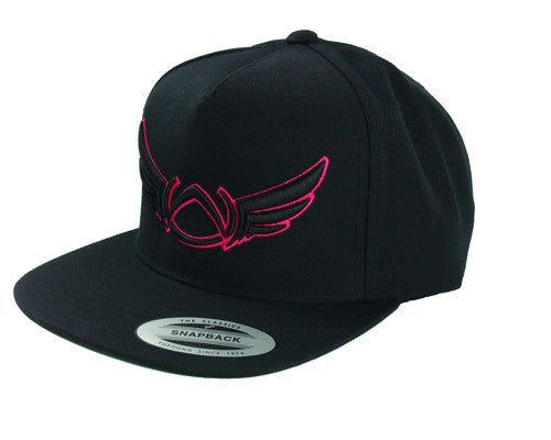Black Bubble Gum Snapback - Absolution Apparel - 1