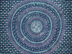 Cotton tapestries, Indian spreads, bedspreads, batik wall hanging
