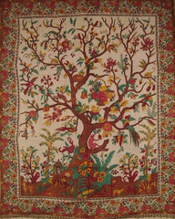 Tree of Life Tapestry, Tree of Life Wall Hanging, Cotton Tree of Life, Tree of Life Bedspreads