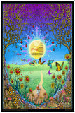 Woodstock Back To The Garden Heady Art Print Tapestry 53x85