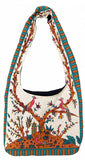SALE Gorgeous Tree of Life Hobo Shoulder Bag 15 x 12 Beige