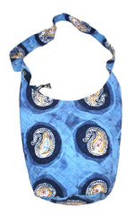 Authentic Batik Cotton Quilted Hobo Bag 14 x 14