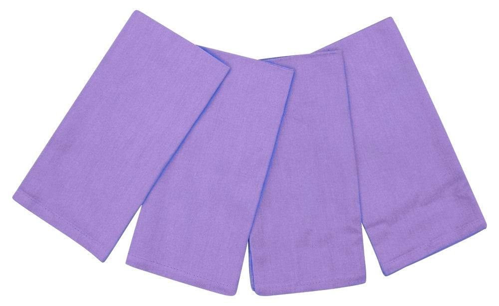 "100% Cotton Napkins 20"" x 20"" Set of 4 Lavender"