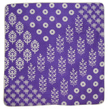 Quality Cotton Cushion Cover 17 x 17 Purple