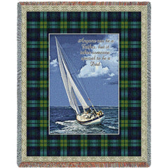 Special Dad Woven Tapestry Throw Blanket with Fringe Cotton USA 72x54