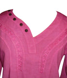 SALE Lovely Passion Pink Blouse Top Shirt Womans M/L
