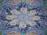 "Infinity Star Print Cotton Wall Hanging 90"" x 60"" Single Multi Color"