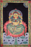 "Sri Laxmi Tapestry Cotton Wall Hanging  102"" x 70"" Twin Multi Color"