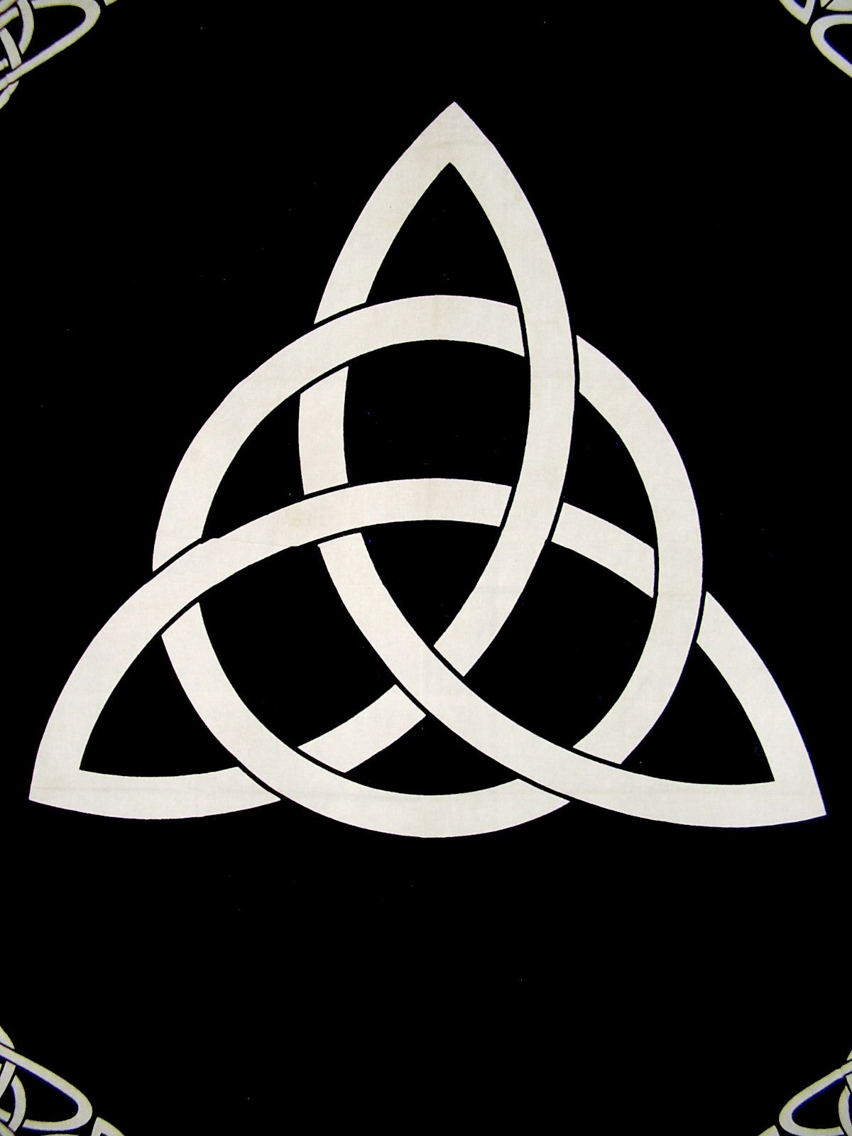 Celtic Trinity Knot Tapestry Heavy Cotton Spread 98 Quot X 70
