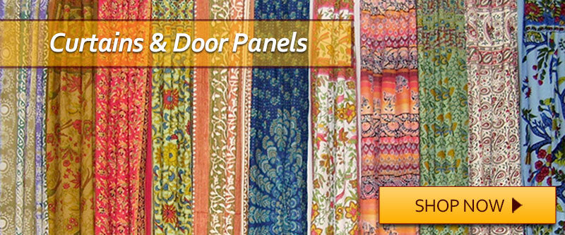 Curtains Ideas batik curtain panels : Full Moon Loom | Cotton Tapestries, Indian Bedspreads, Celtic ...
