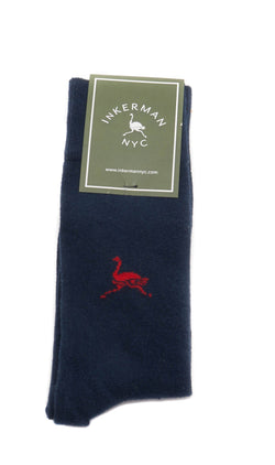 Inkerman Socks  Navy Blue - One Size Fits all