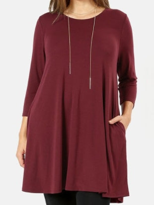 Swing Pocket Tunic