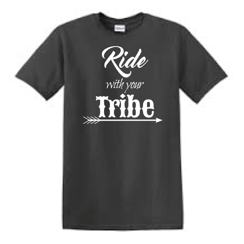 Ride with your tribe tee