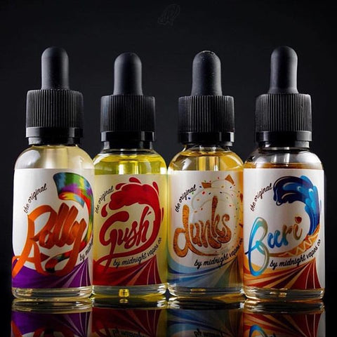 Midnight Vape Co Sample Pack - Liquid Ejuice