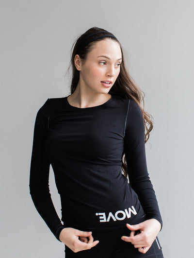 MOVE. Bamboo Long Sleeve Tee
