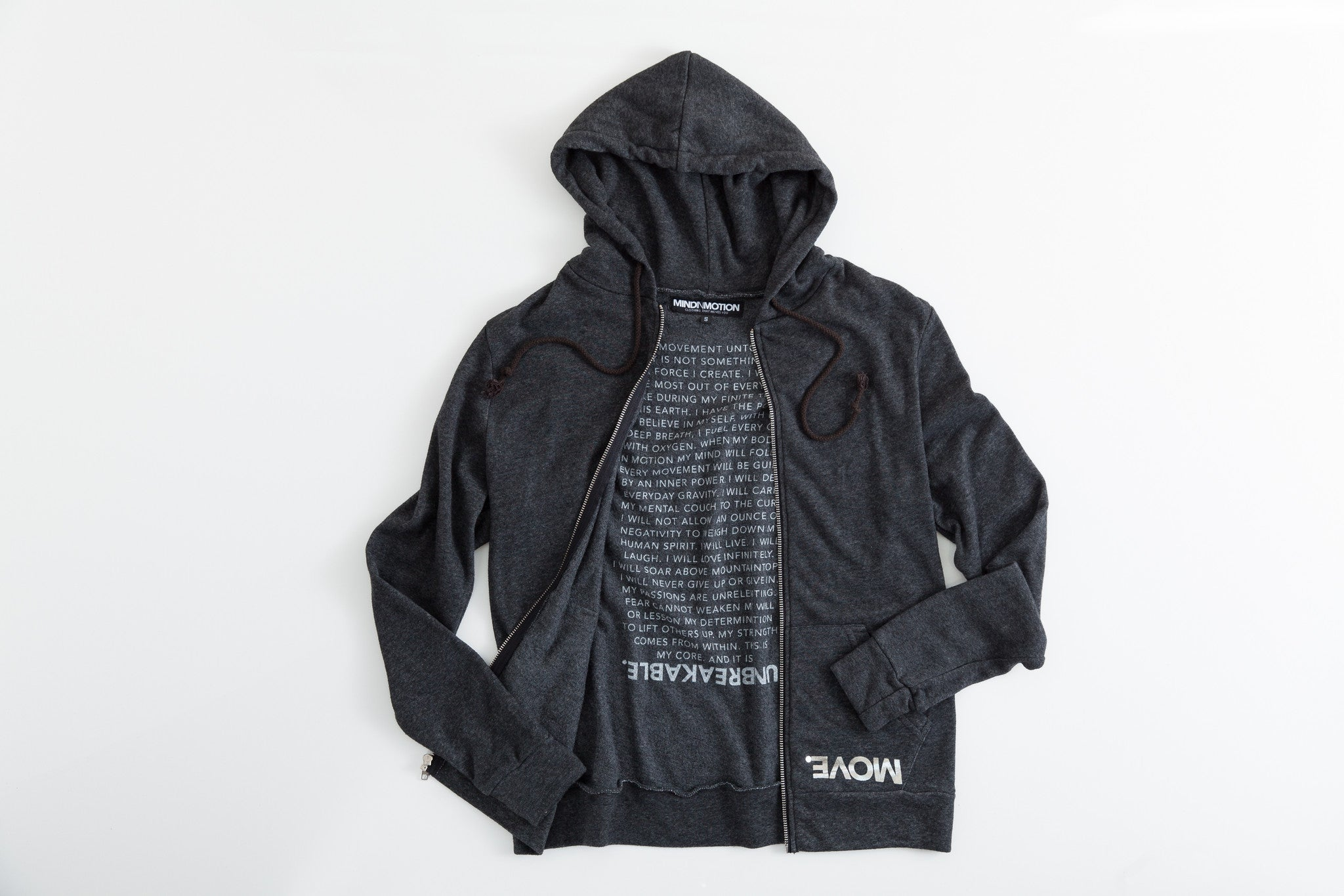 MOVE. Zip Pocket Hoodie