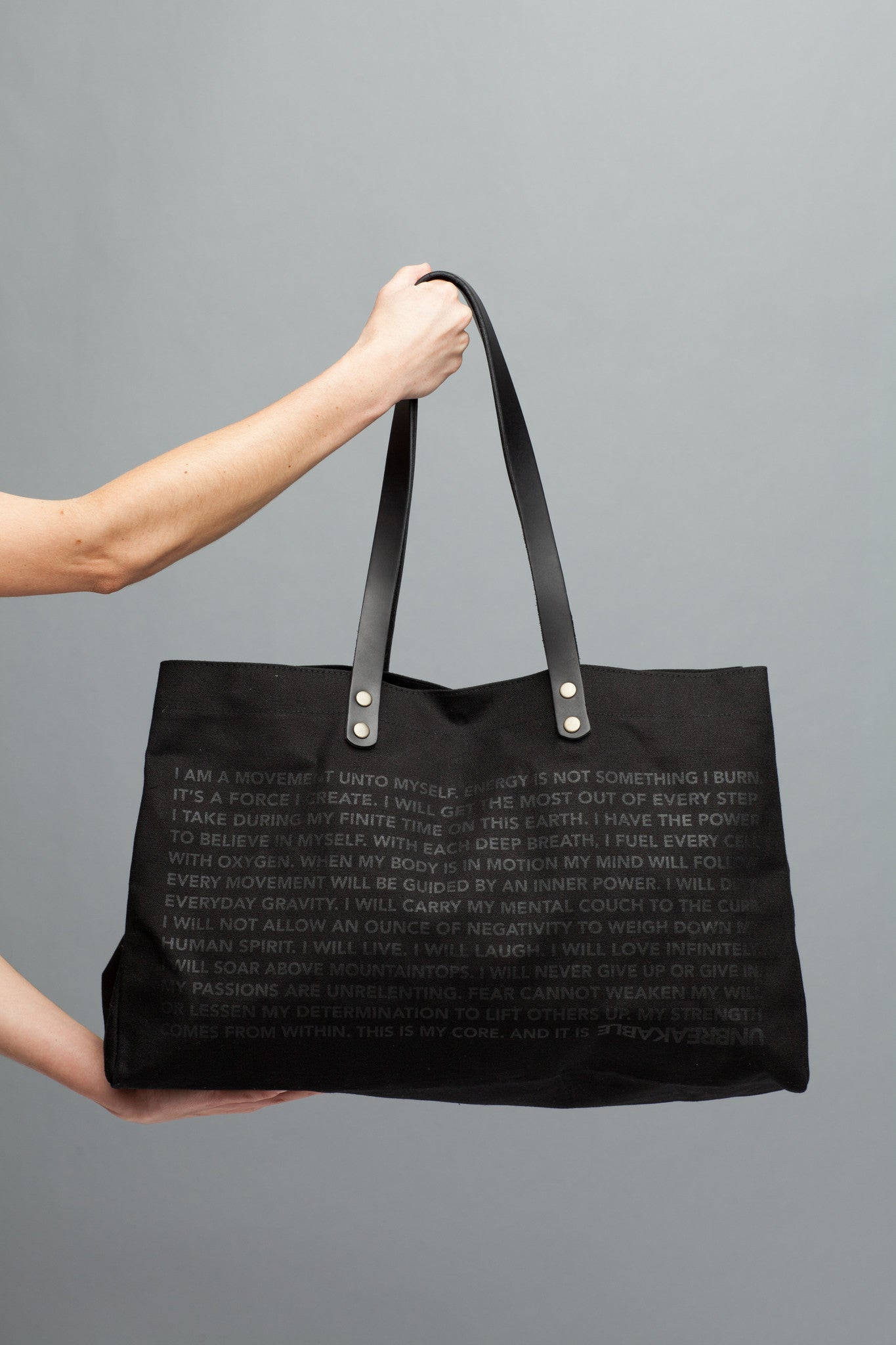 LOOK WITHIN. Canvas Totes