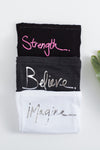 BELIEVE. Girl's Short Sleeve Tee