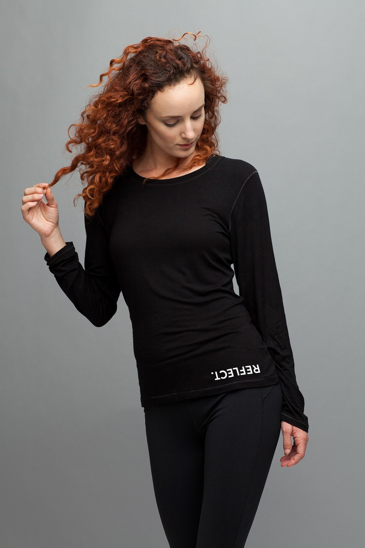 REFLECT. Women's Ideal Long Sleeve Tee