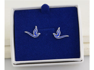Blue Dove Earrings