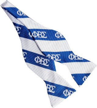 Phi Beta Sigma Self tie Bow-Tie