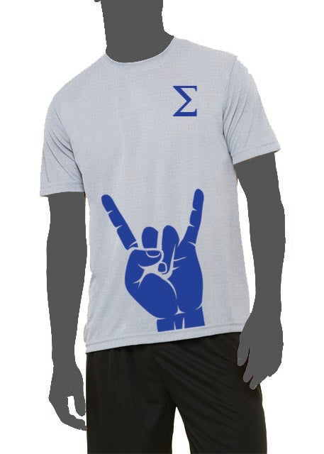 Hand Sign Performance Shirt