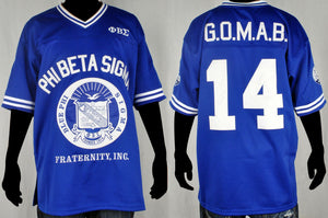Blue Sigma Football Jersey *Treston Pulley Edition*