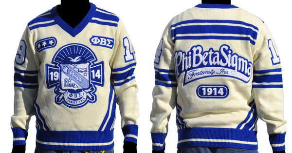 Phi Beta Sigma V Neck Sweater