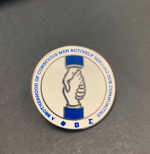 BCM- Brotherhood of Conscious Men Pin