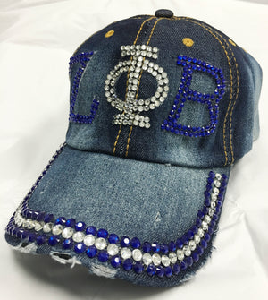 Zeta Denim Bling Lid
