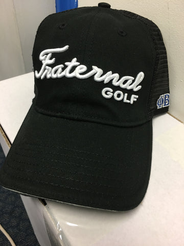 Fraternal Golf Cap
