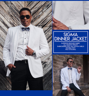 PBS Official White Dinner Jacket