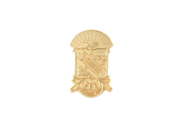Phi Beta Sigma Shield in Gold Kase