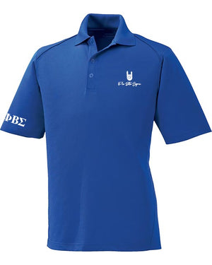Royal Hand Sign Polo